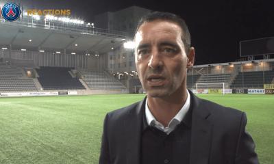 """Linköpings/PSG - Olivier Echouafni """"nous n'avons fait que la moitié du chemin"""""""