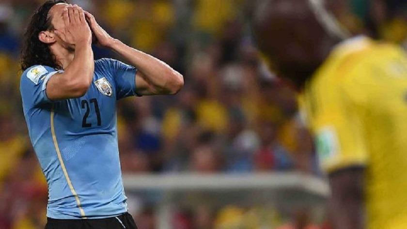 Japon/Uruguay - Edinson Cavani buteur et passer lors de la défaite uruguayenne