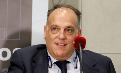 """Javier Tebas """"Le PSG ? Un club qui a triché ne devrait pas disputer de Coupe d'Europe"""""""