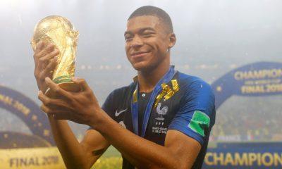 Kylian Mbappé champion du Monde
