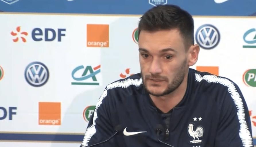 """Lloris """"Kimpembe a un énorme potentiel....Mbappé est parti pour faire une carrière exceptionnel"""""""