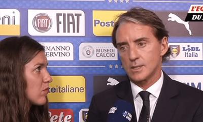 """Mancini """"Verratti a fait un bon match, mais il doit encore travailler pour revenir à son meilleur niveau"""""""