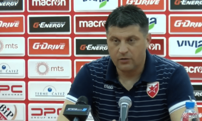 "PSG/Belgrade - Vladan Milojević ""On va se battre...Je ne crois pas qu'ils s'adaptent aux équipes adverses"""