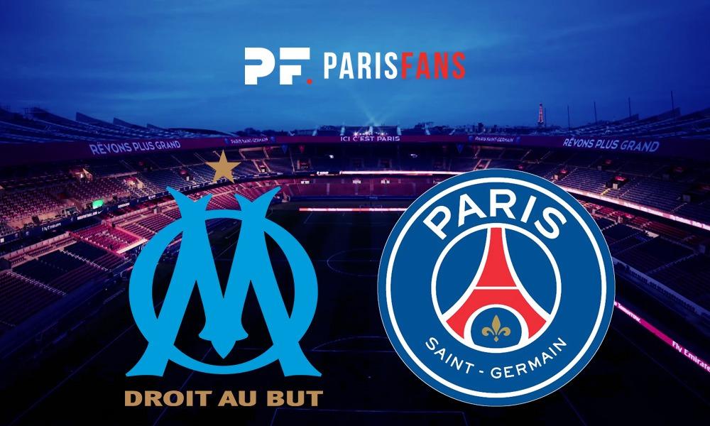 OM/PSG - Les équipes officielles : Mbappé et Rabiot remplaçants, Paris en 3-4-2-1