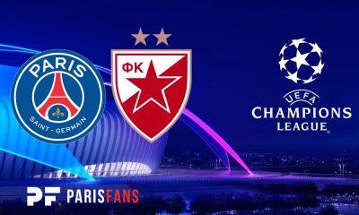 PSG/Belgrade - Le groupe serbe : Boakye absent