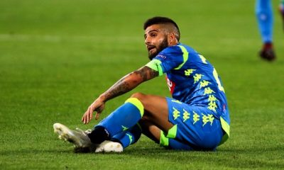 PSG/Naples - Insigne forfait ce weekend et incertain pour le déplacement à Paris