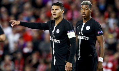 PSGNaples - Thiago Silva forfait, selon Yahoo Sport