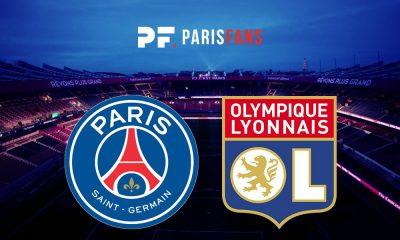 PSG/OL - Le groupe parisien :