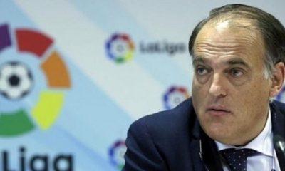 Tebas demande à ce que le FPF s'applique et que le PSG soit sanctionné et affirme qu'il n'écoute pas Nasser