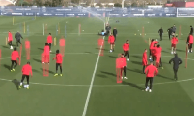 PSG/Naples - Verratti et Di Maria à l'entraînement ce mardi, pas Thiago Silva
