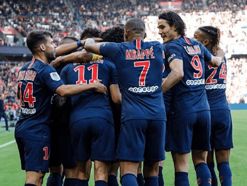 Les images du PSG ce samedi : célébrations de la large victoire contre Amiens