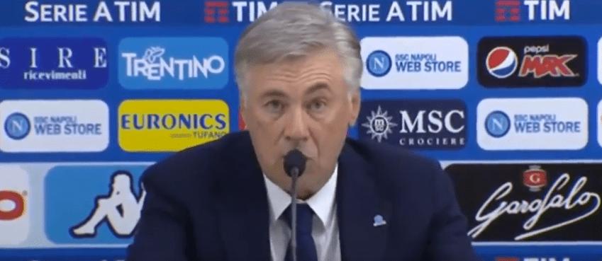 Naples/PSG - Ancelotti donne son avis sur le match, Mbappé, Neymar et Verratti