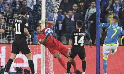 Buffon Naples-PSG