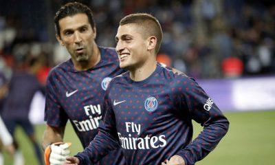 """Verratti: """"Buffon est vraiment très heureux du choix qu'il a fait de rejoindre Paris"""""""