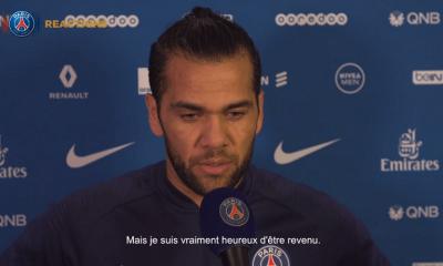 """PSG/Toulouse - Dani Alves """"c'est un jour inoubliable...J'ai encore beaucoup de travail à faire"""""""