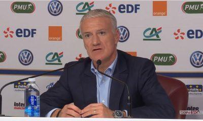 """Deschamps """"Une rivalité Mbappé Griezmann ? Il n'y a jamais d'oppositions entre eux"""""""