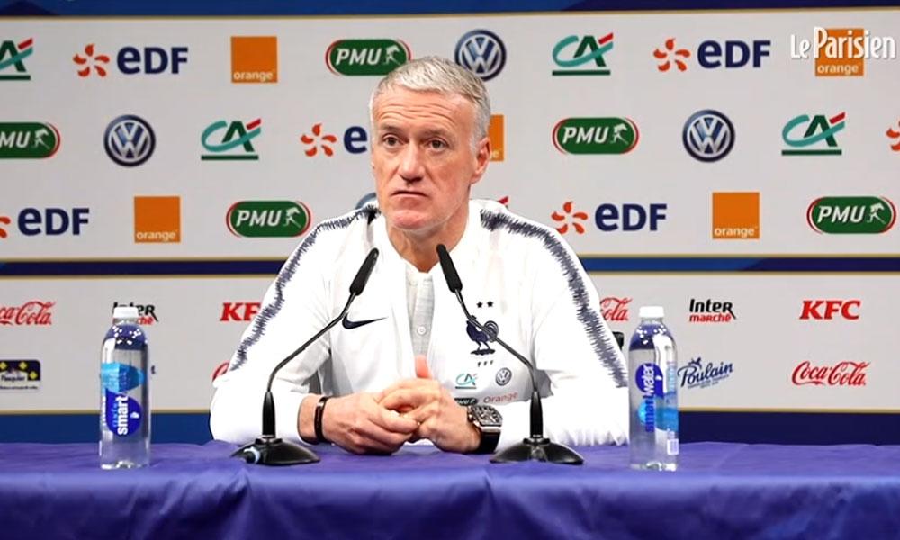 Didier Deschamps équipe de France