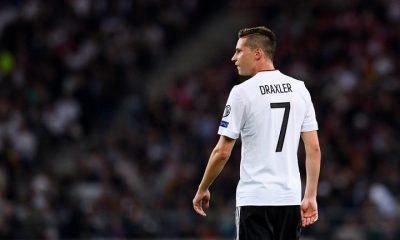 Draxler, Kehrer et Trapp ont gardé leur place en sélection d'Allemagne pour la trêve de novembre