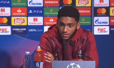 """PSG/Liverpool - Gomez """"Nous devons être à notre meilleur niveau pour battre le PSG"""""""