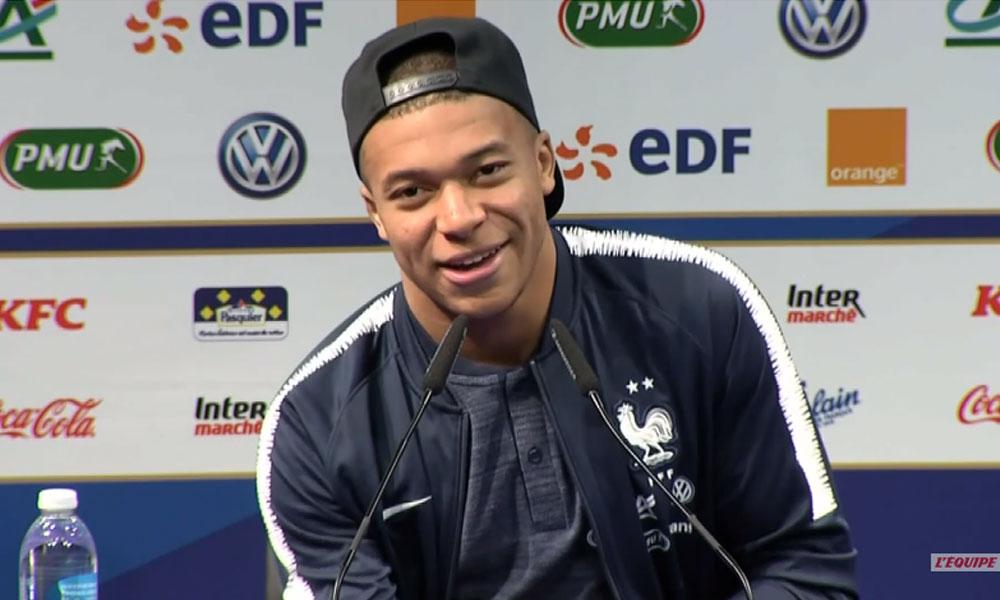 Kylian Mbappé équipe de France