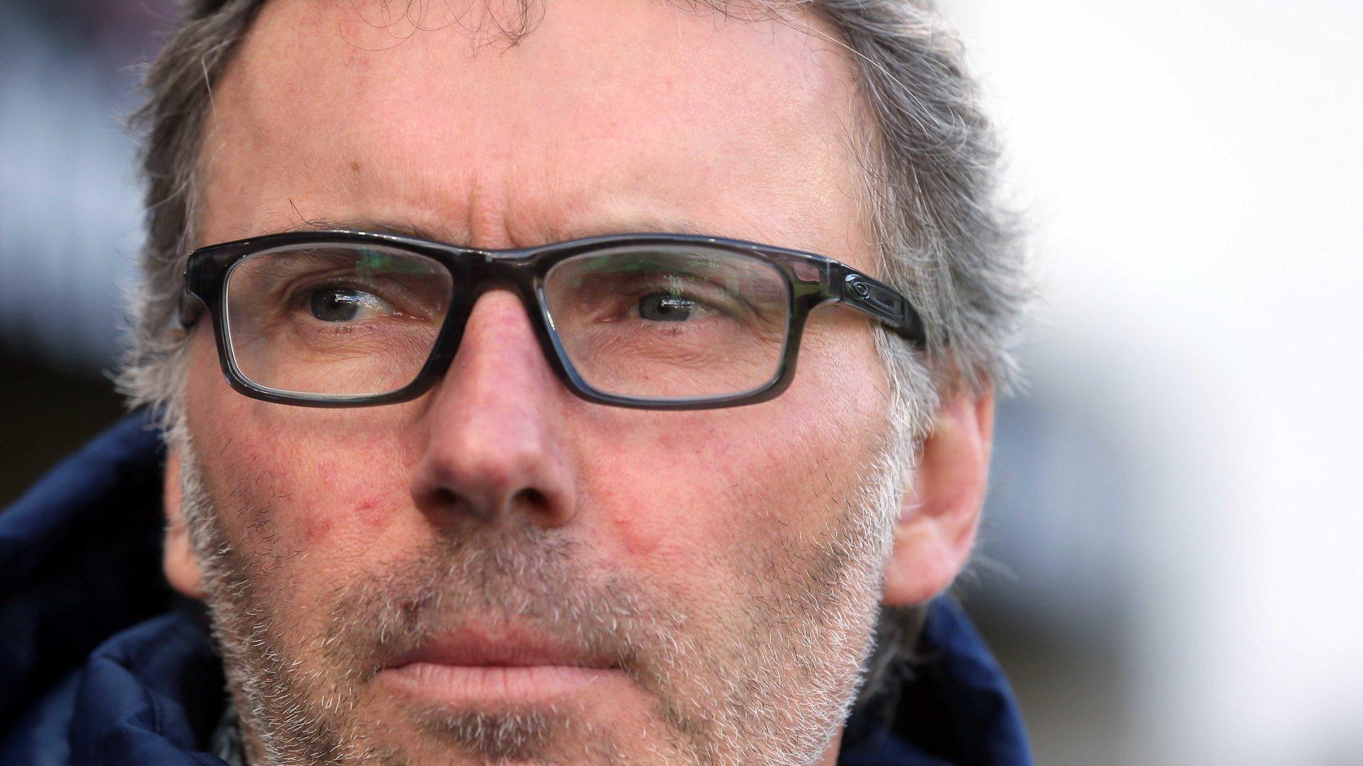 Laurent Blanc: «Mbappé est un phénomène avec un talent précoce et hors norme»