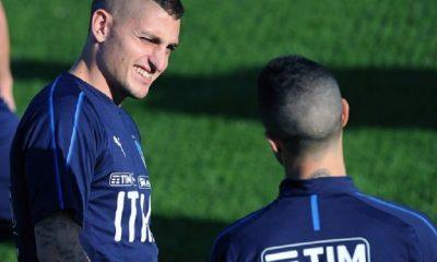 Marco Verratti Je ne me suis jamais aussi bien senti en équipe d'Italie