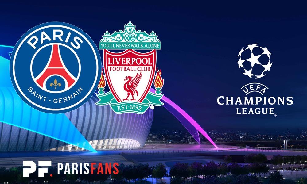 PSG/Liverpool - Les équipes officielles : Paris en 4-3-3 avec Marquinhos en sentinelle&ou 4-2-3-1
