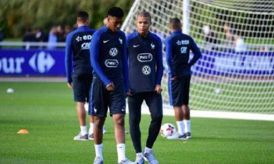 Pays-BasFrance - L'équipe française selon la presse Kimpembe et Mbappé annoncés comme titulaires