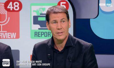 Rudi Garcia ne décolère toujours pas contre l'arbitrage d'OM/PSG