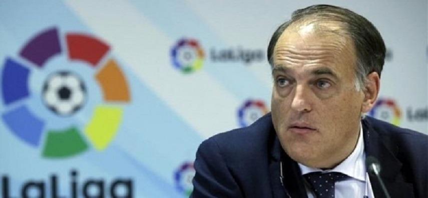 Tebas Le PSG L'UEFA n'a pas fait les bonnes choses...La sanction doit être l'exclusion de la Ligue des champions
