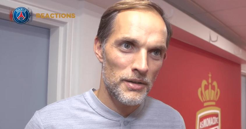 """AS Monaco/PSG - Tuchel """"C'est une sacrée performance que nous réalisons."""""""