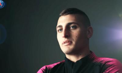 """Verratti """"Mon arrivée au PSG, c'était un grand bon en avant...c'est un honneur de jouer derrière des superstars"""""""