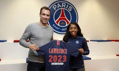 """Lawrence : """"Jouer pour le Paris Saint-Germain est une fierté"""""""