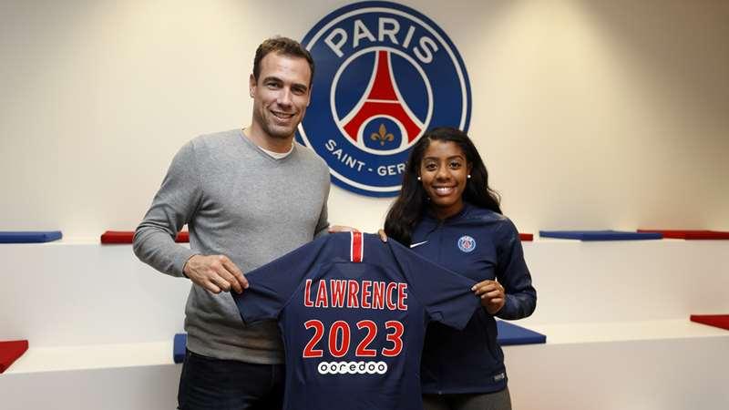 Lawrence : «Jouer pour le Paris Saint-Germain est une fierté»