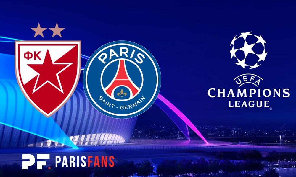 Belgrade/PSG - Les équipes officielles : Paris avec la même équipe que contre Liverpool, donc Buffon et Kehrer titulaires