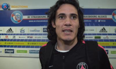 """Strasbourg/PSG - Cavani """"Ici c'est toujours difficile... C'était un bon match pour préparer la LDC"""""""