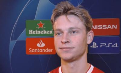 """Mercato - De Jong au PSG ? Le joueur répète qu'il n'a """"pas encore pris de décision"""""""