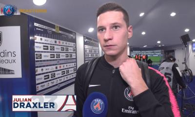 """Bordeaux/PSG - Draxler """"Nous n'étions pas à 100%... Nous aurions peut être pu obtenir un ou deux pénalty """""""