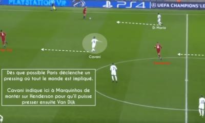 La Gazette Tactique analyse le match du PSG contre Liverpool dans une vidéo très riche