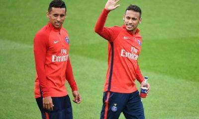 """Marquinhos """"Neymar fait des efforts extraordinaires à la fois offensivement et défensivement...On le voit content"""""""