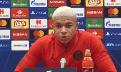 """Belgrade/PSG - Mbappé """"on vient pour la qualification donc on n'aura pas trop le temps de regarder les supporters"""""""