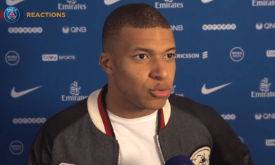 """PSG/Nantes - Mbappé """"Mon but n'est pas le plus beau mais il est important"""""""