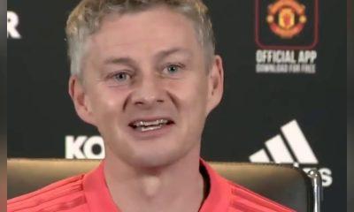 """Solskjaer: """"La philosophie de l'attaque est dans les murs de Manchester United"""""""