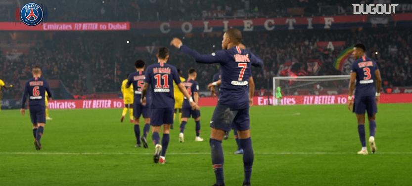 PSG/Nantes - Revivez la victoire parisienne au plus près des joueurs grâce à Dugout
