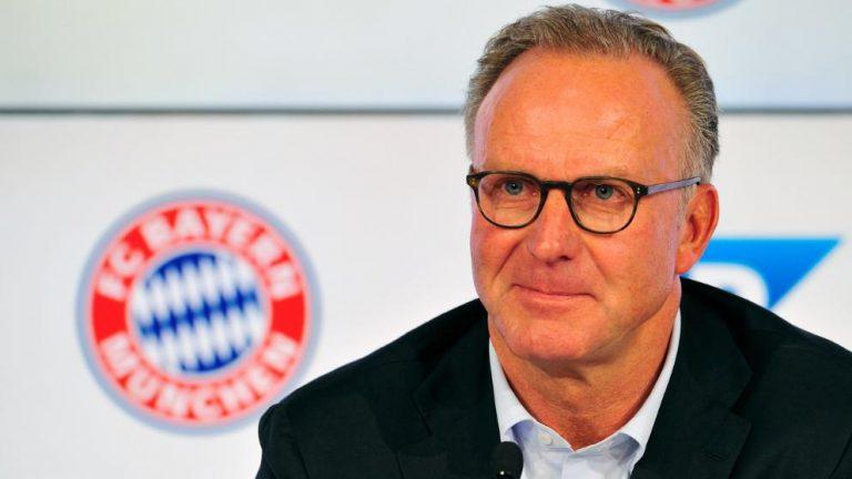 """Rummenigge """"Nous ne voulons pas commettre l'erreur de participer à une course financière avec des clubs comme Paris"""""""