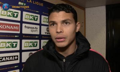 """Orléans/PSG - Thiago Silva """"Le plus important était de se qualifier."""""""