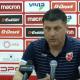 """Belgrade/PSG - Milojevic """"Je voudrais féliciter mes joueurs qui ont fait un bon matchen dépit du résultat défavorable"""""""