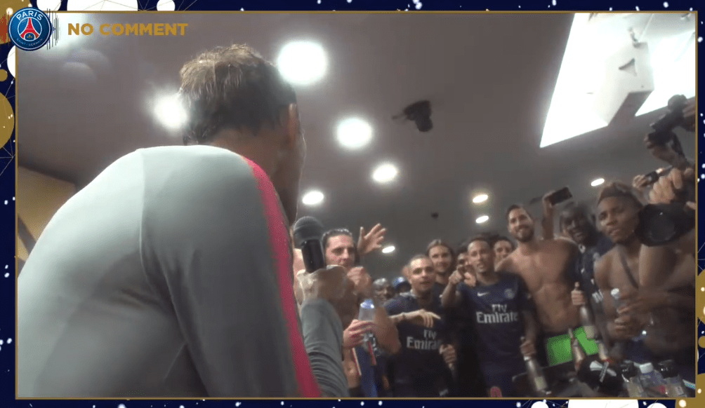 Les images du PSG ce jeudi : amis, famille, records et best-of du zapping
