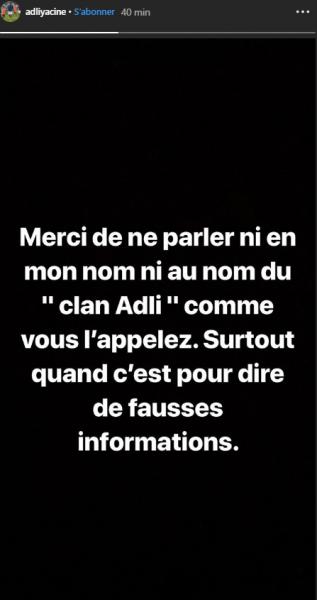 Yacine Adli dément les informations de RMC Sport avec un certain agacement