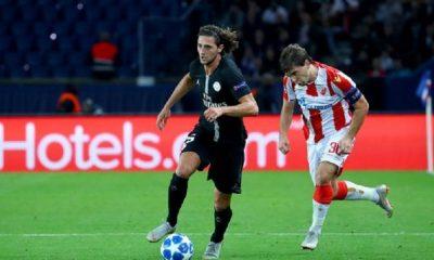 Adrien Rabiot s'est encore entraîné avec la réserve du PSG ce lundi, indique Le Parisien